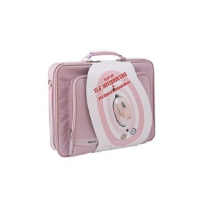 Photo of Tech Air Bundle 15.6 Inch Pink Carry Case With Pink USB Mouse Laptop Bag