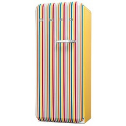 Smeg FAB28YCS 50's Retro Style (Colour stripes + Left Hinge)