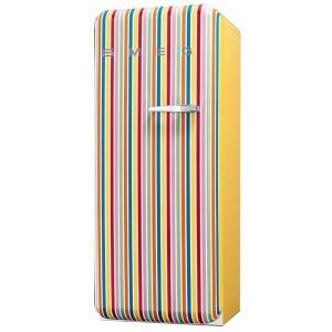 Photo of Smeg FAB28YCS 50's Retro Style (Colour Stripes + Left Hinge) Fridge