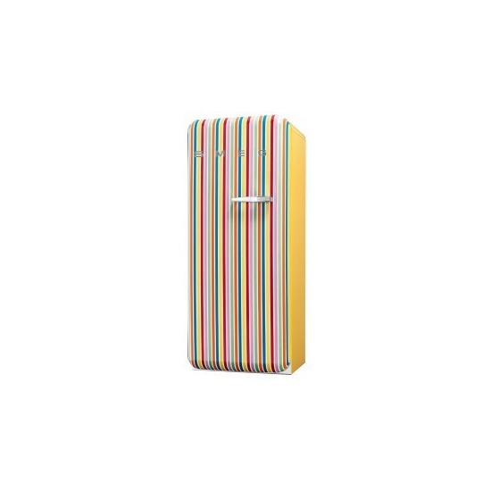 Smeg FAB28YCS 50's Retro Style (Colour stripes + Left Hinge)