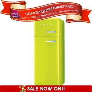 Photo of Smeg FAB30YVE 50's Retro Style (Lime Green + Left Hinge) Fridge Freezer