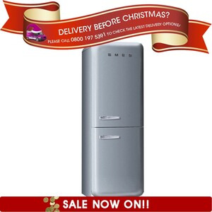 Photo of Smeg FAB32QX 50's Retro Style (Silver + Right Hinge) Fridge Freezer