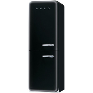 Photo of Smeg FAB32YNE 50's Retro Style (Black + Left Hinge) Fridge Freezer