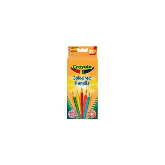 Crayola Coloured Pencils - 24 Pack