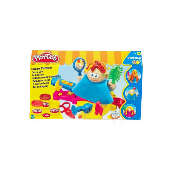 Play-Doh Fuzzy Pumper Crazy Cuts