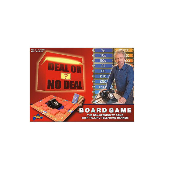 Deal Or No Deal? Electronic Board Game