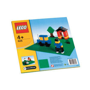 Photo of Lego Green Building Plate Toy