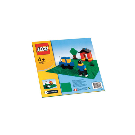 Lego Green Building Plate
