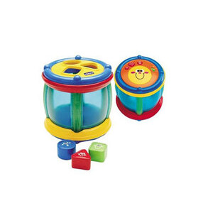 Photo of Chicco Shapes 'N' Sounds Tambourine Toy