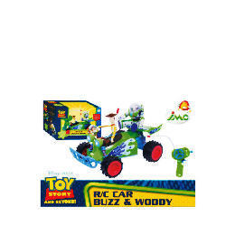 Toy Story Radio Controlled Car With Buzz And Woody Reviews