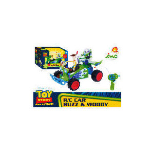 Photo of Toy Story Radio Controlled Car With Buzz and Woody Toy