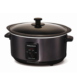Morphy Richards 48703 Sear and Stew Slow Cooker - Black