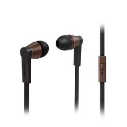 Philips CitiScape St Germain SHE5105BK/10 Headphones - Black & Brown Reviews