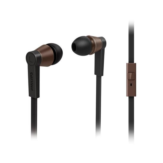 Philips CitiScape St Germain SHE5105BK/10 Headphones - Black & Brown