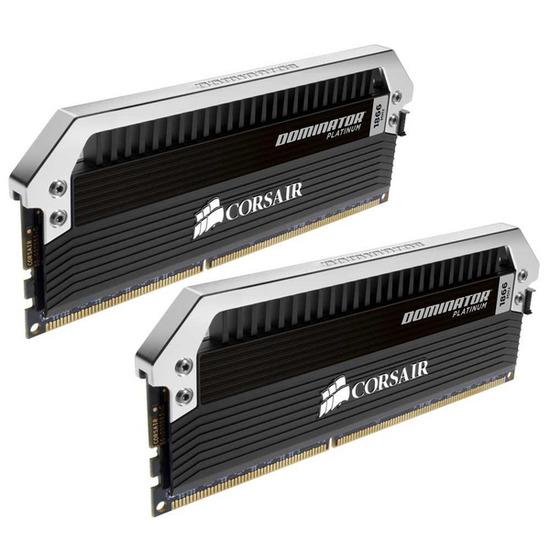 CORSAIR 2 X 8 GB DDR3-1866 PC3-15000 CL9 Dominator Platinum PC Memory Modules (CMD16GX3M2A1866C9)