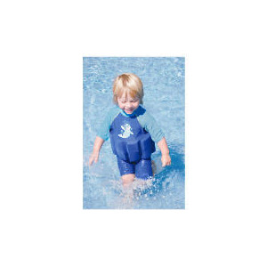 Photo of Zoggs Sun Protection Floatsuit Blue 1-2 Years Swimwear