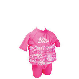 Zoggs Sun Protection Floatsuit Pink 1-2 Years Reviews