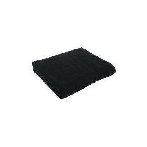 Photo of Tesco Soft Bath Sheet, Black Bathroom Fitting