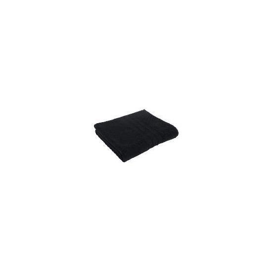 Tesco Soft Bath Sheet, Black