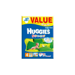 Photo of Huggies Super-Dry Value Box SZ 4 (X87) Baby Product