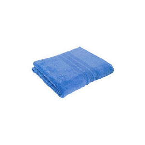 Photo of Tesco Soft Bath Sheet - Blue Towel