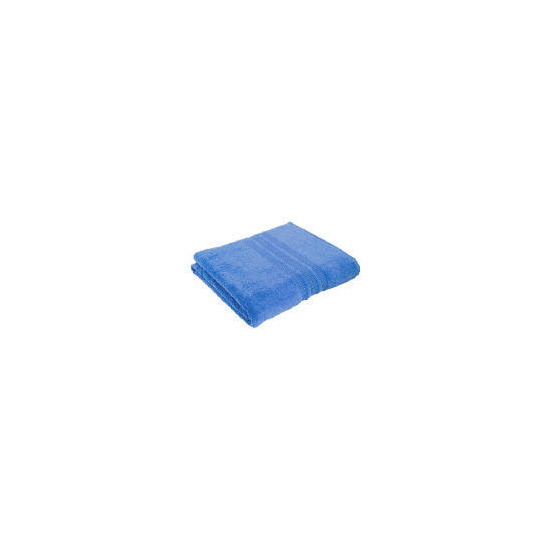 Tesco Soft Bath Sheet - Blue