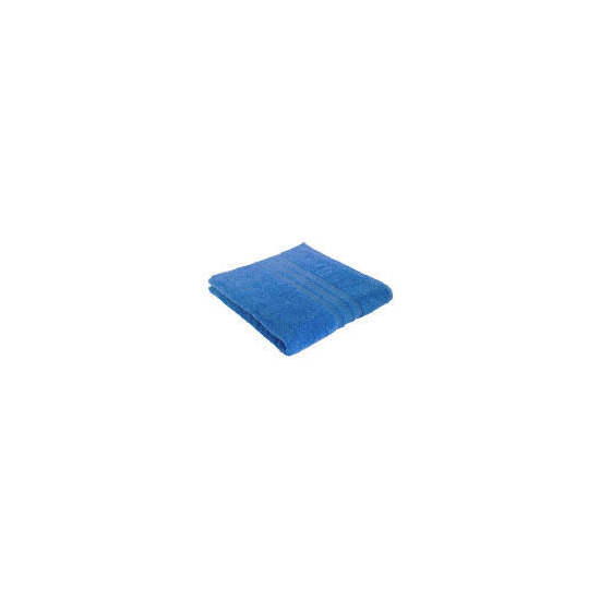 Tesco Soft Bath Towel, Blue