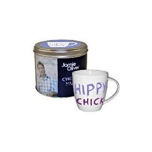 Photo of Jamie Oliver Mug In A Tin, Hippy Chick Kitchen Accessory