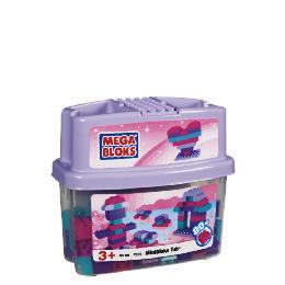 Mega Bloks 80 Piece Exclusive Tub Pink Reviews