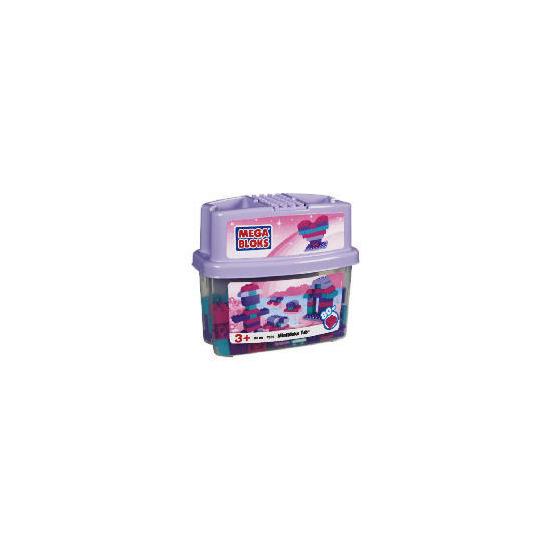 Mega Bloks 80 Piece Exclusive Tub Pink
