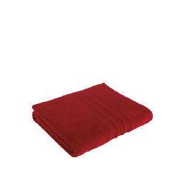 Tesco Soft Bath Sheet, Red Reviews