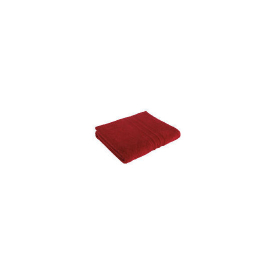 Tesco Soft Bath Sheet, Red
