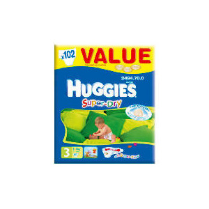 Photo of Huggies Super-Dry Value Box SZ 3 (X102) Baby Product
