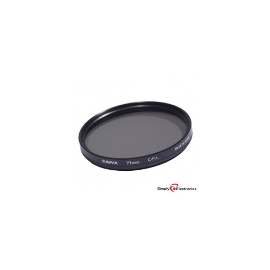 Sunpak 58mm Circular PL Filter