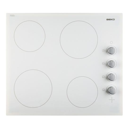 Beko HIC64105 Ceramic Hob - White