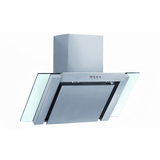 Baumatic BE900GL Chimney Cooker Hood - Stainless Steel