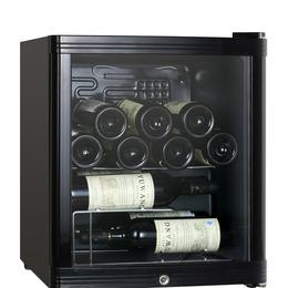 ESSENTIALS CWC15B12 Wine Cooler - Black Reviews