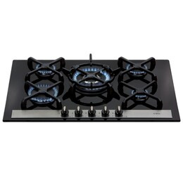 CDA HVG77BL Five burner gas on glass hob Reviews