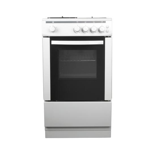 ESSENTIALS CFSGWH12 Gas Cooker - White