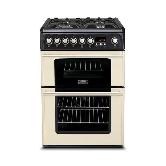 Cannon Professional CH60DPCF Dual Fuel Cooker - Cream