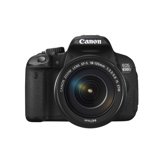 Canon EOS 650D with 18-135mm Lens