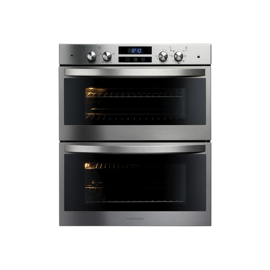 Rangemaster R7247 Electric Built-under Double Oven - Stainless Steel