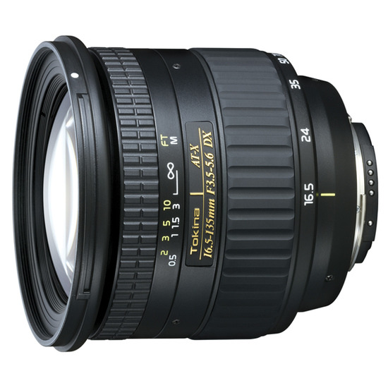 Tokina AT-X DX 16.5-135mm f/3.5-5.6 (Canon mount)