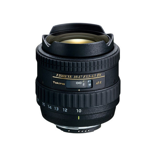 Tokina AT-X DX 10-17mm f3.5-4.5 (Canon mount)