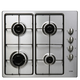 Logik LGHOBX12 Gas Hob & LBFANX12 Electric Oven - Stainless Steel Reviews