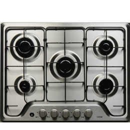 Logik LG5HOBX12 Gas Hob - Stainless Steel Reviews
