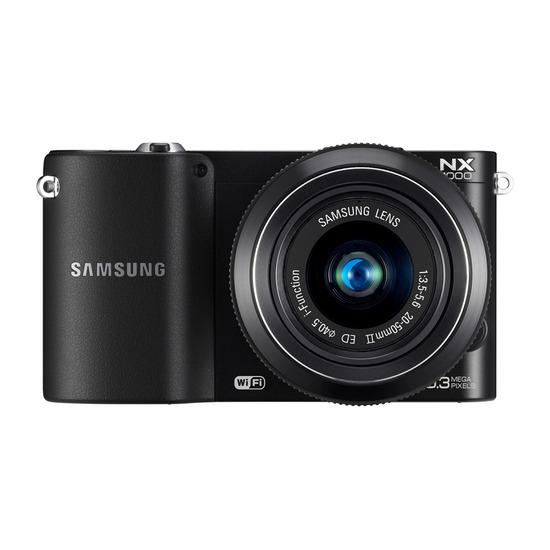Samsung NX1000 with 20-50mm Lens & 20mm Pancake Lens