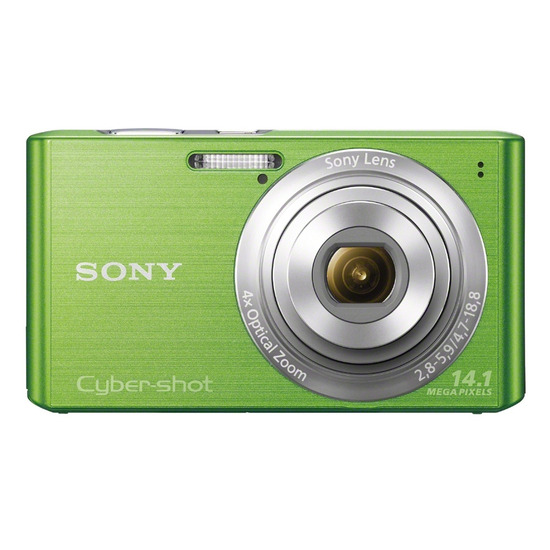 Sony Cyber-shot DSCW610G Compact Digital Camera - Green