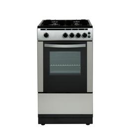 ESSENTIALS CFSGSV12 Gas Cooker - Silver Reviews