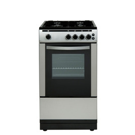 ESSENTIALS CFSGSV12 Gas Cooker - Silver Reviews